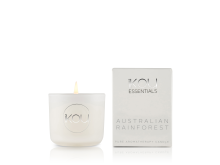 IKOU ESSENTIALS CANDLE GLASS SMALL – AUSTRALIAN RAINFOREST