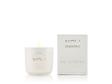 IKOU ESSENTIALS CANDLE GLASS SMALL – DE – STRESS