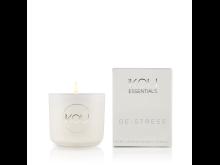 IKOU ESSENTIALS CANDLE GLASS SMALL – DE – STRESS